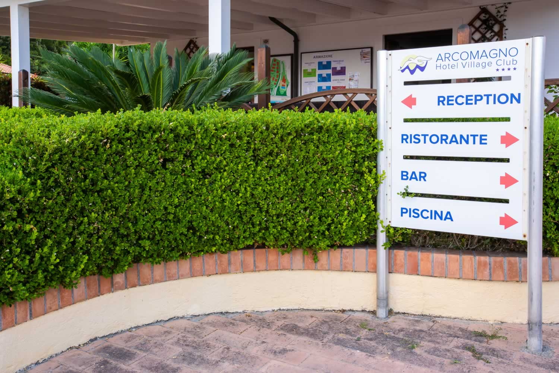 Arcomagno Village Reception