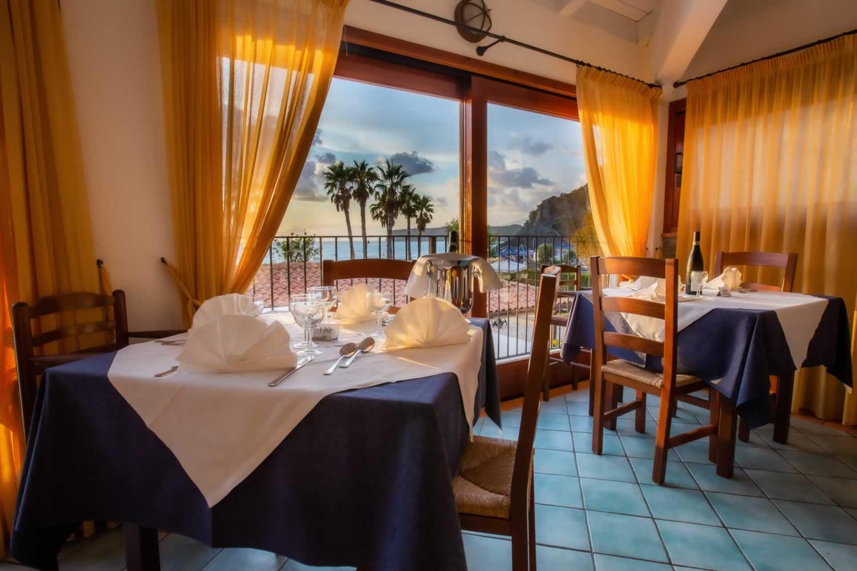 Arcomagno Resort - Ristorante vista mare
